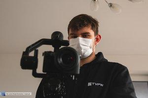 Backstage z filmu promującego targi pracy Spotkaj Swojego Pracodawcę - 3 zdjęcie w galerii.