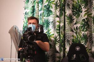 Backstage z filmu promującego targi pracy Spotkaj Swojego Pracodawcę - 8 zdjęcie w galerii.