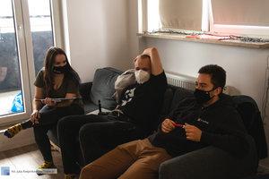 Backstage z filmu promującego targi pracy Spotkaj Swojego Pracodawcę - 9 zdjęcie w galerii.