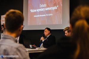 Debata studencka - Różne wymiary samorządu - 1 zdjęcie w galerii.
