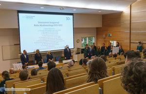 Inauguracja na Wydziale Inżynierii Materiałowej oraz obchody 30-lecia wydziału - 5 zdjęcie w galerii.