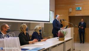 Inauguracja na Wydziale Inżynierii Materiałowej oraz obchody 30-lecia wydziału - 6 zdjęcie w galerii.