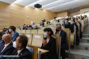 Inauguracja na Wydziale Inżynierii Materiałowej oraz obchody 30-lecia wydziału - 7 zdjęcie w galerii.