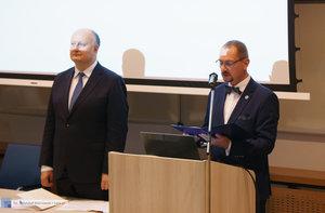 Inauguracja na Wydziale Inżynierii Materiałowej oraz obchody 30-lecia wydziału - 12 zdjęcie w galerii.