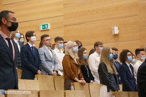 Inauguracja na Wydziale Inżynierii Materiałowej oraz obchody 30-lecia wydziału - 13 zdjęcie w galerii.