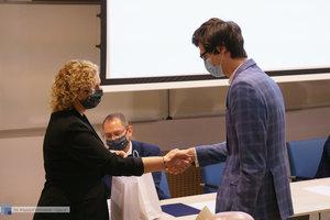 Inauguracja na Wydziale Inżynierii Materiałowej oraz obchody 30-lecia wydziału - 18 zdjęcie w galerii.