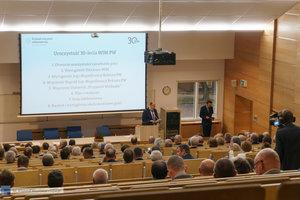 Inauguracja na Wydziale Inżynierii Materiałowej oraz obchody 30-lecia wydziału - 33 zdjęcie w galerii.