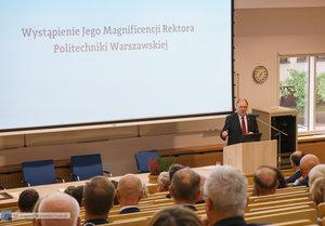 Inauguracja na Wydziale Inżynierii Materiałowej oraz obchody 30-lecia wydziału - 38 zdjęcie w galerii.