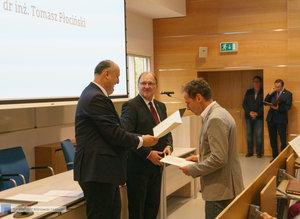 Inauguracja na Wydziale Inżynierii Materiałowej oraz obchody 30-lecia wydziału - 40 zdjęcie w galerii.