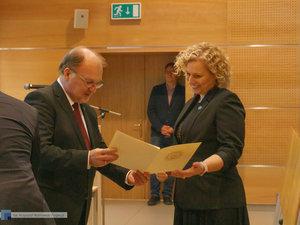 Inauguracja na Wydziale Inżynierii Materiałowej oraz obchody 30-lecia wydziału - 41 zdjęcie w galerii.