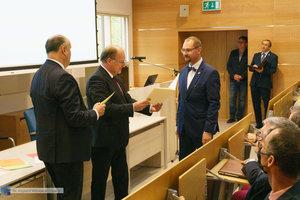 Inauguracja na Wydziale Inżynierii Materiałowej oraz obchody 30-lecia wydziału - 43 zdjęcie w galerii.