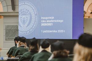 Rok Akademicki 2020/2021 PW rozpoczęty! - 2 zdjęcie w galerii.