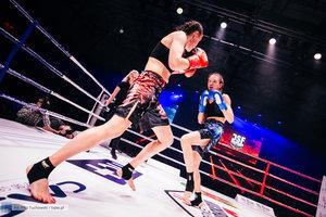 Kickboxingowa rywalizacja na najwyższym poziomie - 63 zdjęcie w galerii.