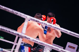 Kickboxingowa rywalizacja na najwyższym poziomie - 87 zdjęcie w galerii.
