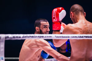 Kickboxingowa rywalizacja na najwyższym poziomie - 93 zdjęcie w galerii.