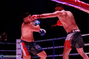 Kickboxingowa rywalizacja na najwyższym poziomie - 110 zdjęcie w galerii.