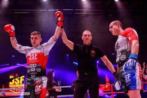 Kickboxingowa rywalizacja na najwyższym poziomie - 160 zdjęcie w galerii.