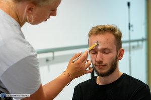 """Nagrania do skeczy pt. """"Powrót po Pandemii"""" - 48 zdjęcie w galerii."""