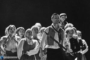 """Próba medialna musicalu """"Les Misérables"""" - 20 zdjęcie w galerii."""