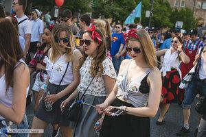 Wielka Parada Studentów 2017 - galeria - 129 zdjęcie w galerii.