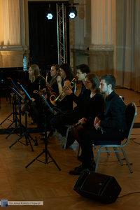 """XII Koncert Galowy Orkiestry Rozrywkowej Politechniki Warszawskiej """"The Engineers Band"""" - 5 zdjęcie w galerii."""
