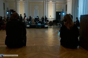 """XII Koncert Galowy Orkiestry Rozrywkowej Politechniki Warszawskiej """"The Engineers Band"""" - 1 zdjęcie w galerii."""