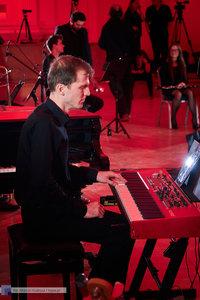 """XII Koncert Galowy Orkiestry Rozrywkowej Politechniki Warszawskiej """"The Engineers Band"""" - 58 zdjęcie w galerii."""